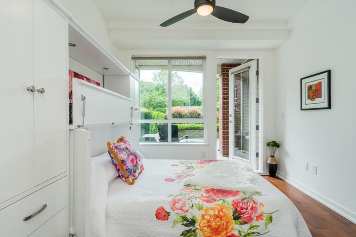 Master Bedroom at 151 - 2950 King George Boulevard, King George Corridor, South Surrey White Rock