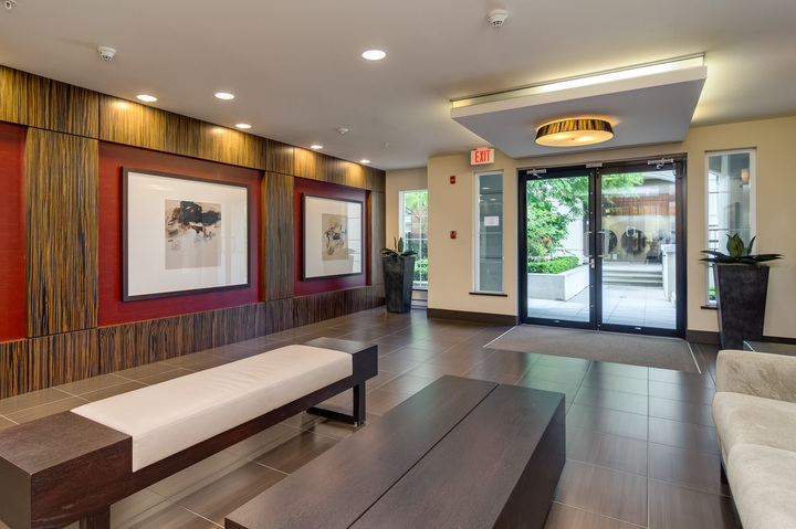 Building Lobby at 151 - 2950 King George Boulevard, King George Corridor, South Surrey White Rock