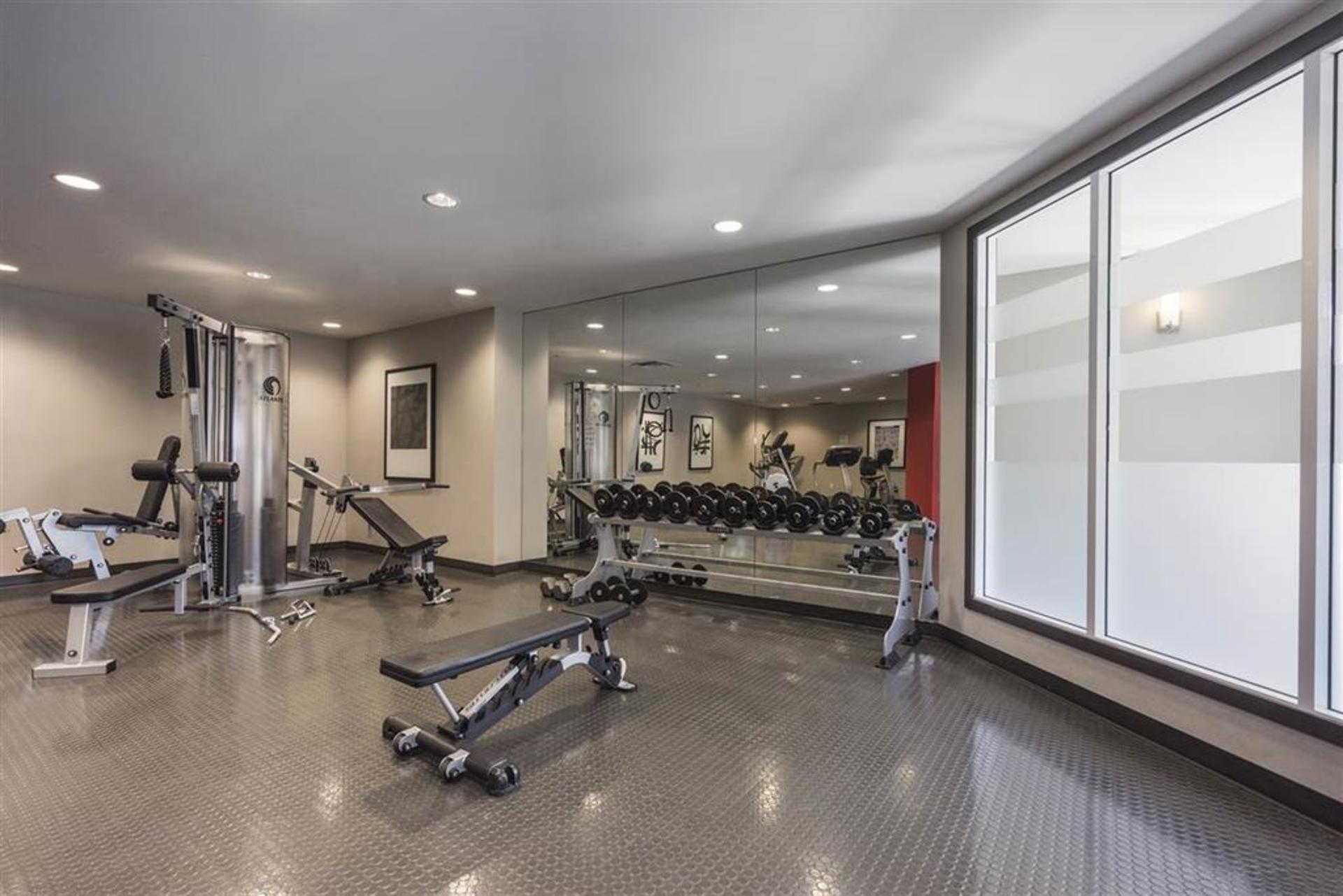 Gym at 151 - 2950 King George Boulevard, King George Corridor, South Surrey White Rock