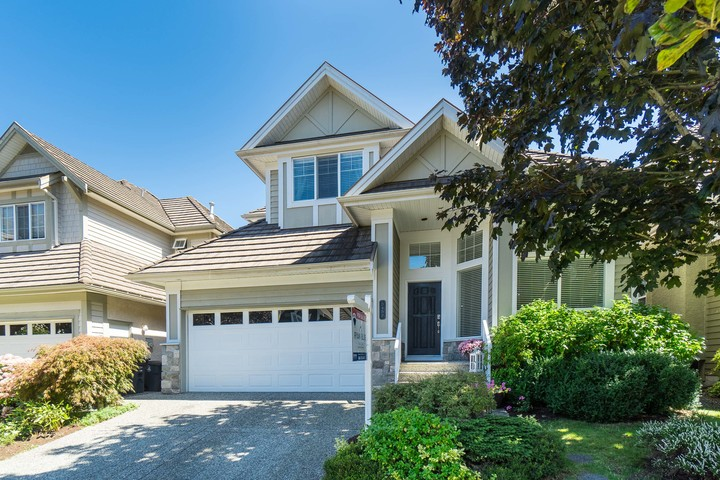 Front Exterior at 3452 152b Street, Morgan Creek, South Surrey White Rock