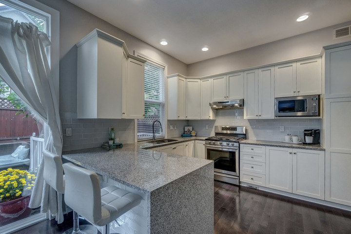 Kitchen at 3452 152b Street, Morgan Creek, South Surrey White Rock