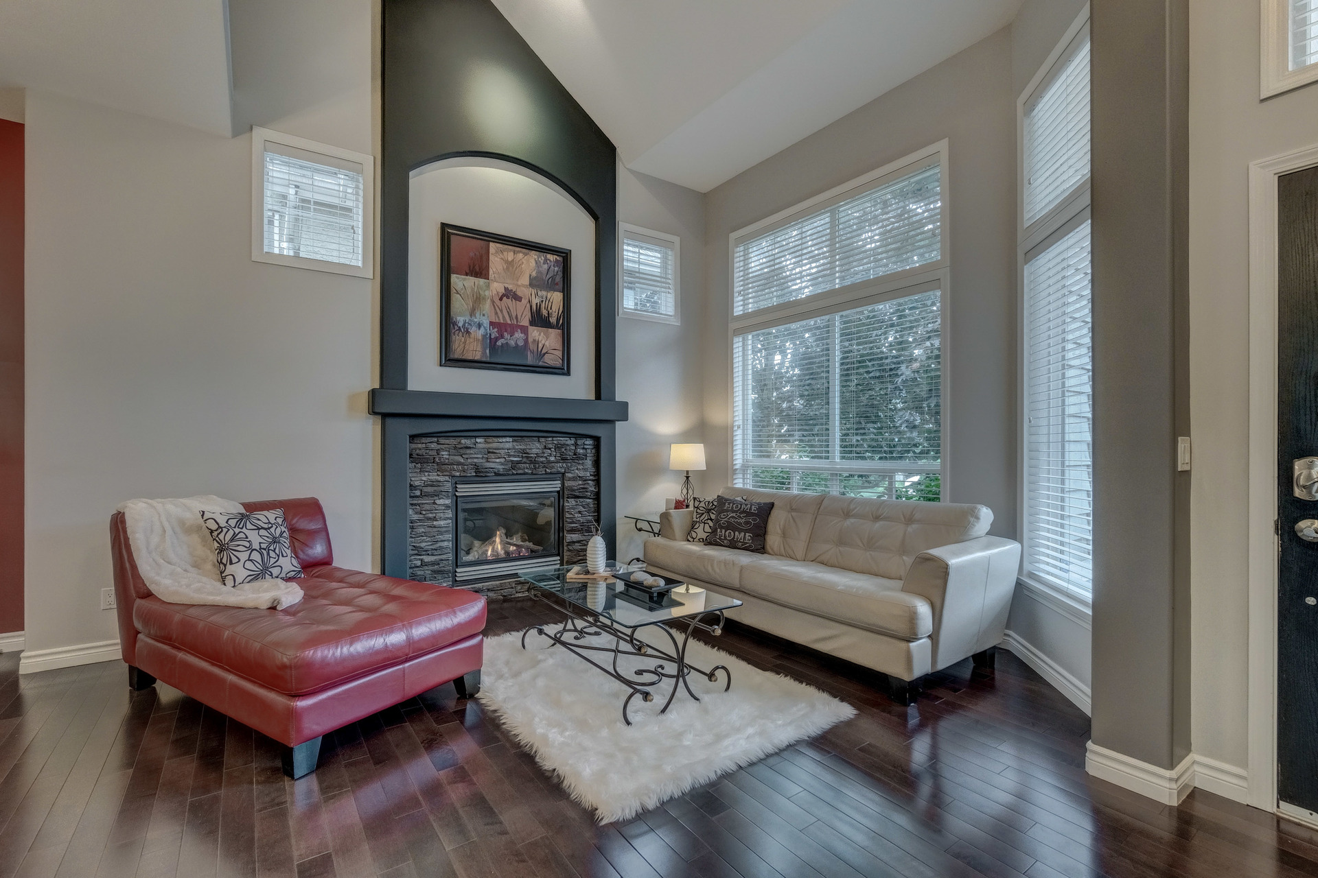 Living Room at 3452 152b Street, Morgan Creek, South Surrey White Rock