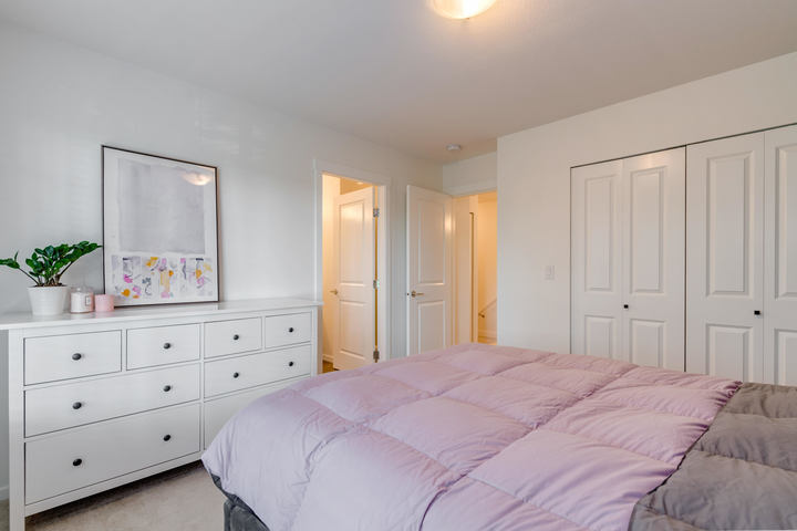 Master Bedroom at 15 - 16357 15 Avenue, King George Corridor, South Surrey White Rock
