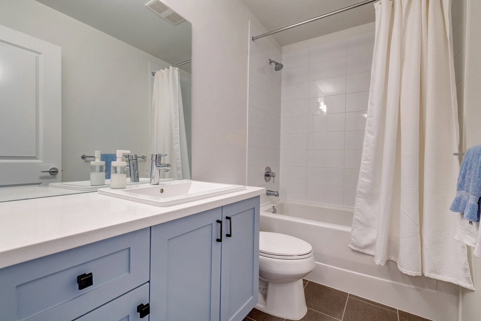 Bathroom at 15 - 16357 15 Avenue, King George Corridor, South Surrey White Rock