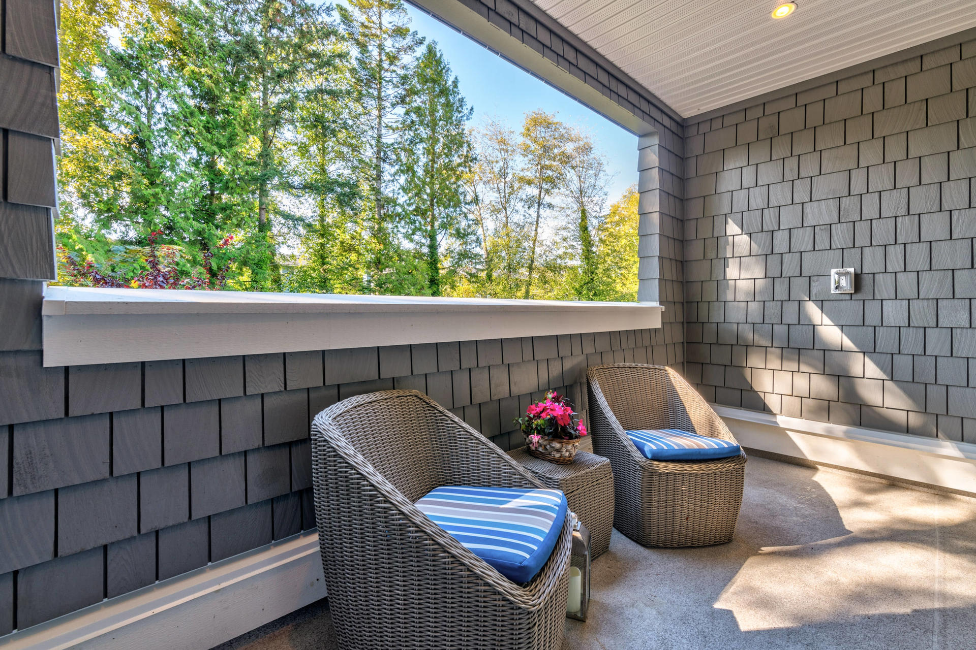 Patio at 15 - 16357 15 Avenue, King George Corridor, South Surrey White Rock