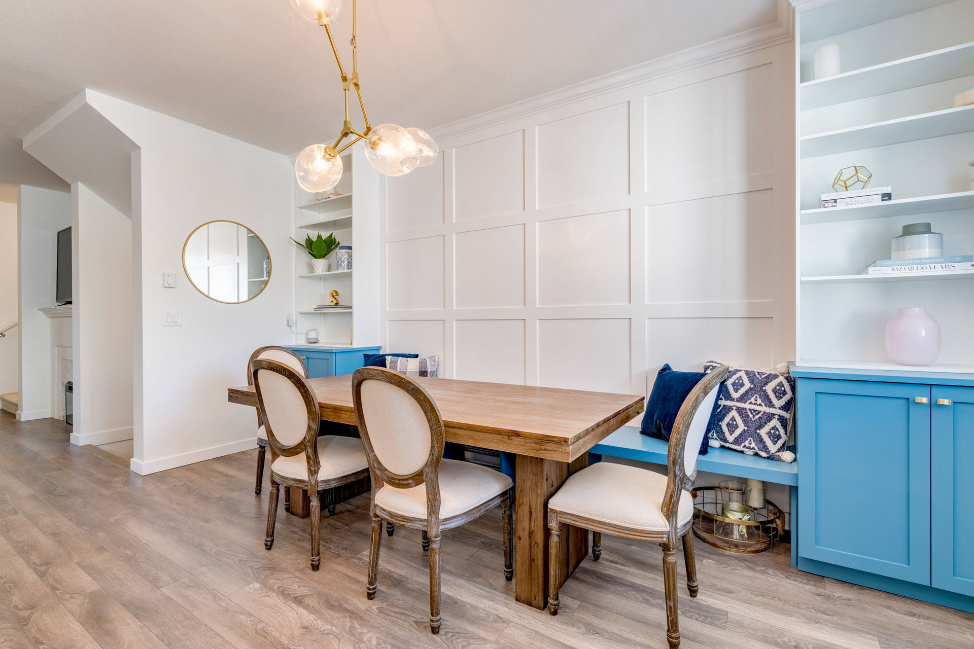 Dining Room at 15 - 16357 15 Avenue, King George Corridor, South Surrey White Rock