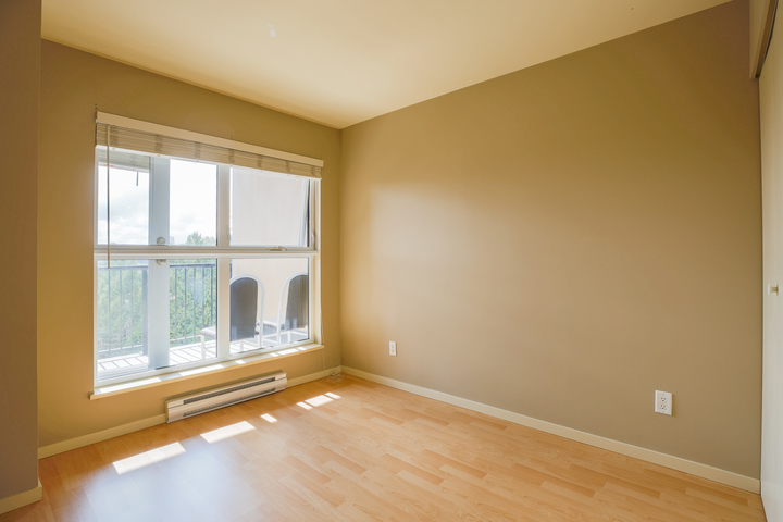 Bedroom at 610 - 415 E Columbia Street, Sapperton, New Westminster