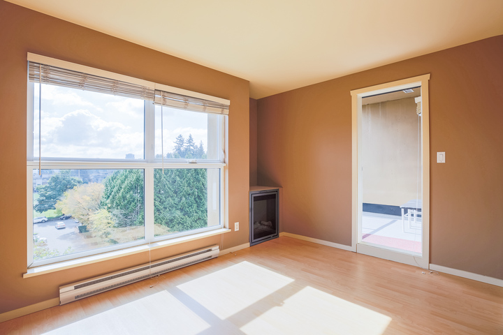 Living Room at 610 - 415 E Columbia Street, Sapperton, New Westminster