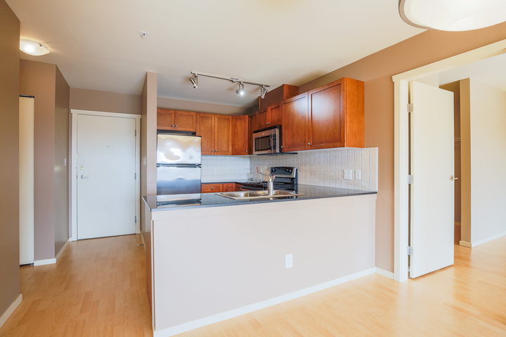 Kitchen at 610 - 415 E Columbia Street, Sapperton, New Westminster