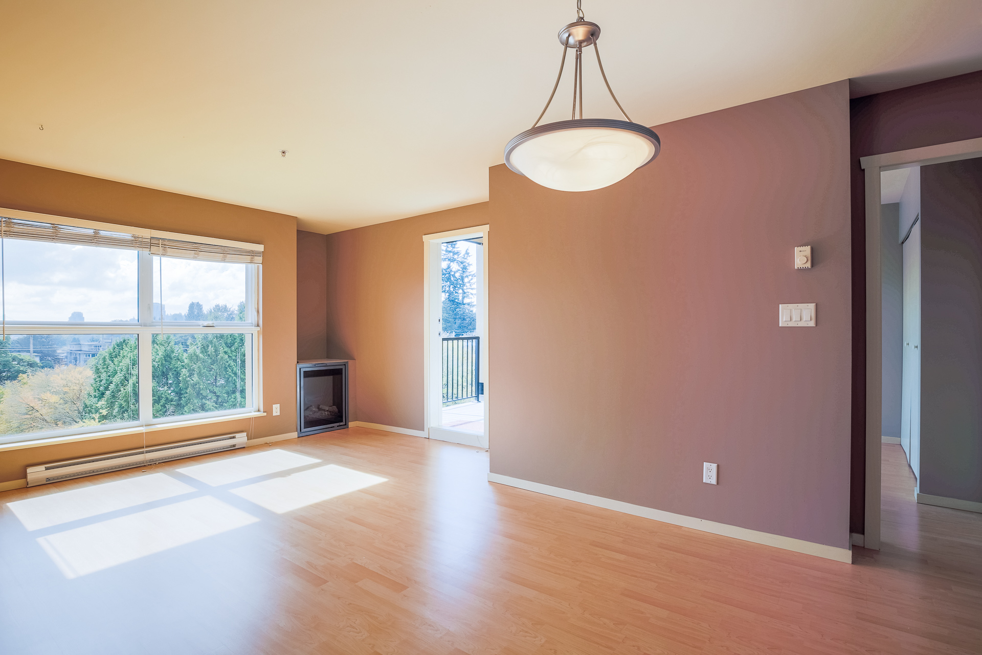 Living Room & Dining Room at 610 - 415 E Columbia Street, Sapperton, New Westminster