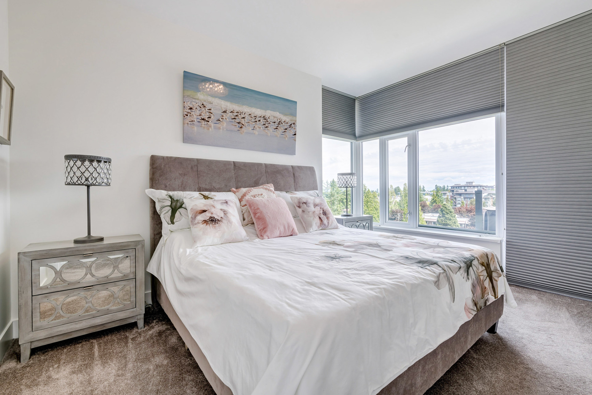 Master Bedroom at 908 - 1501 Vidal Street, White Rock, South Surrey White Rock