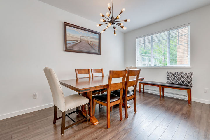 Dinging Room at 22 - 127 172 Street, Pacific Douglas, South Surrey White Rock