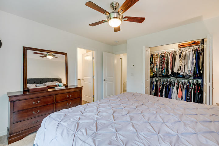 Master Bedroom & Walk-In Closet at 22 - 127 172 Street, Pacific Douglas, South Surrey White Rock