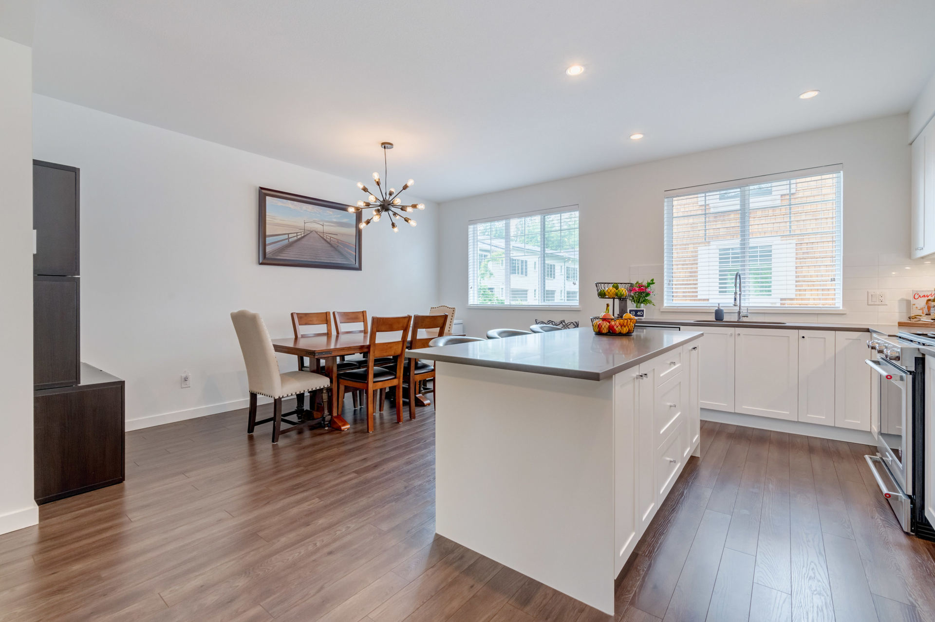 Kitchen & Dining Room at 22 - 127 172 Street, Pacific Douglas, South Surrey White Rock