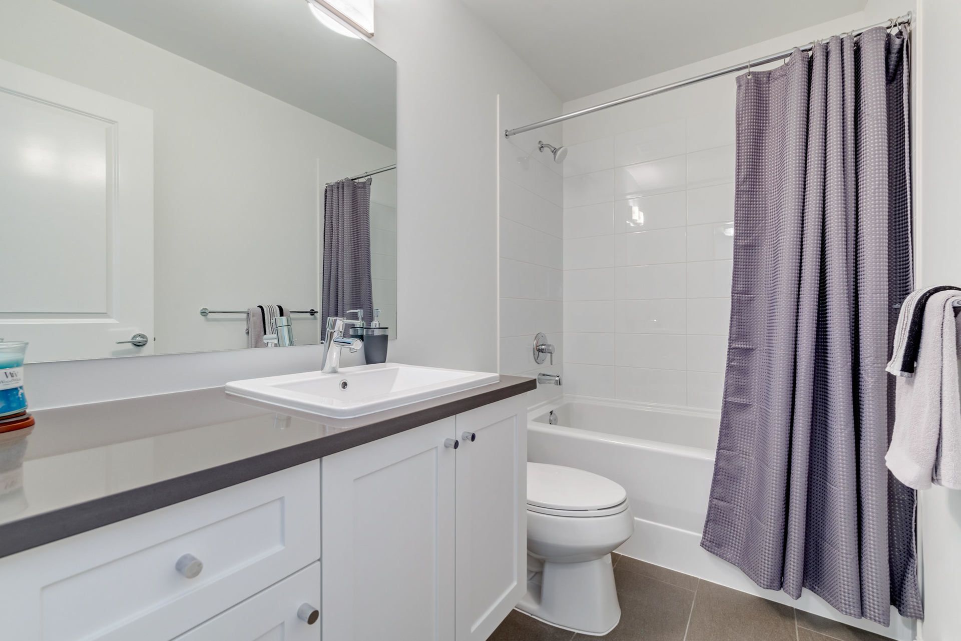 Upstairs Bathroom at 22 - 127 172 Street, Pacific Douglas, South Surrey White Rock