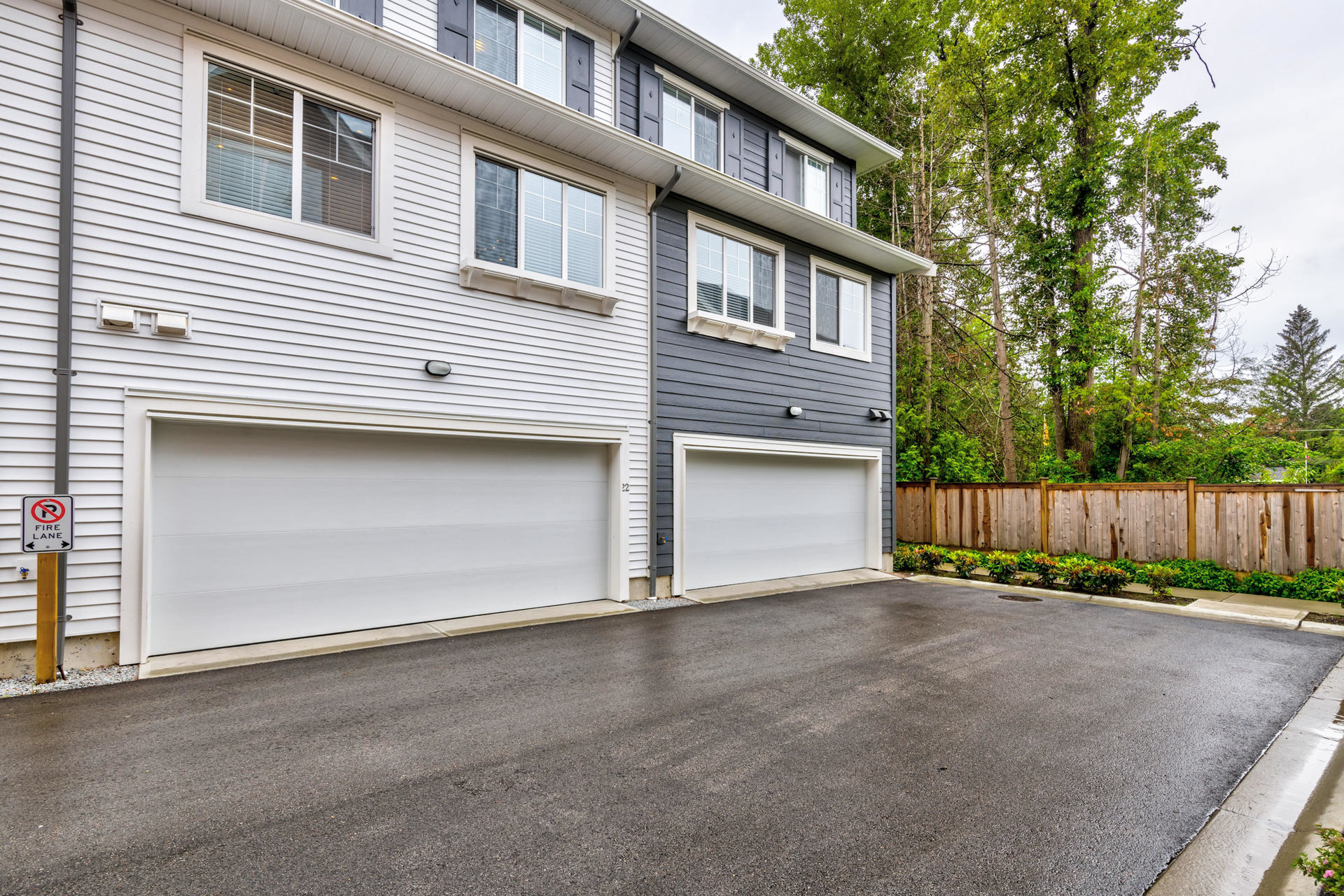 Rear Exterior Double Garage  at 22 - 127 172 Street, Pacific Douglas, South Surrey White Rock