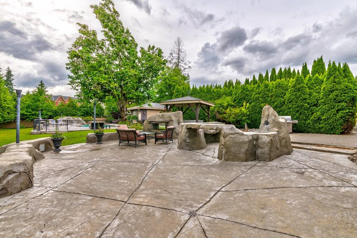 Patio Area at 1384 Glenbrook Street, Burke Mountain, Coquitlam