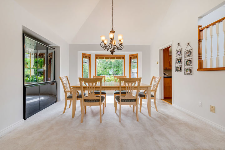 Dining Room at 1384 Glenbrook Street, Burke Mountain, Coquitlam