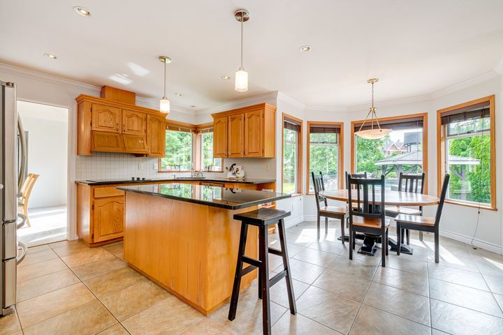 Kitchen & Eating Area at 1384 Glenbrook Street, Burke Mountain, Coquitlam