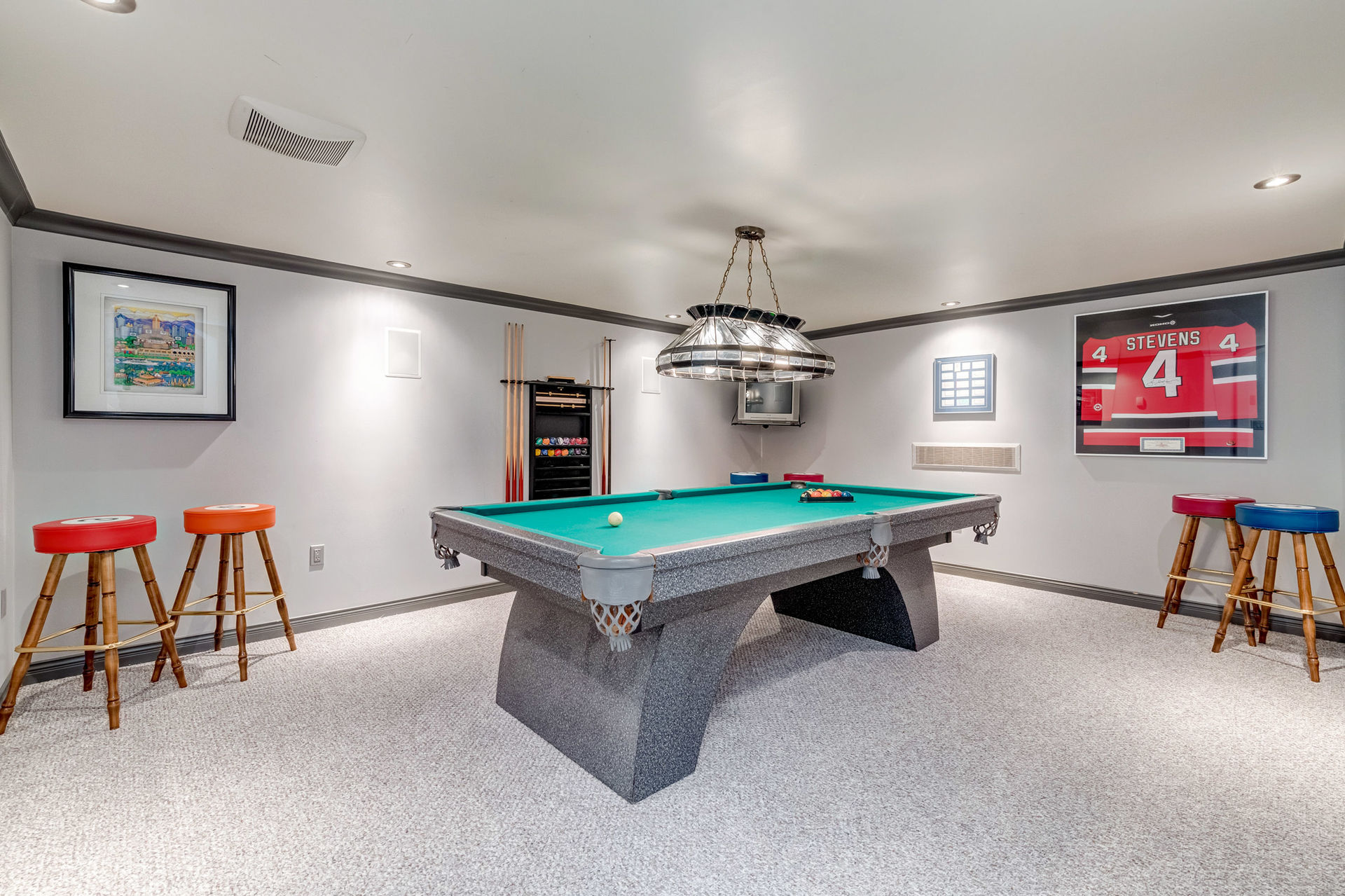 Recreation Room at 1384 Glenbrook Street, Burke Mountain, Coquitlam