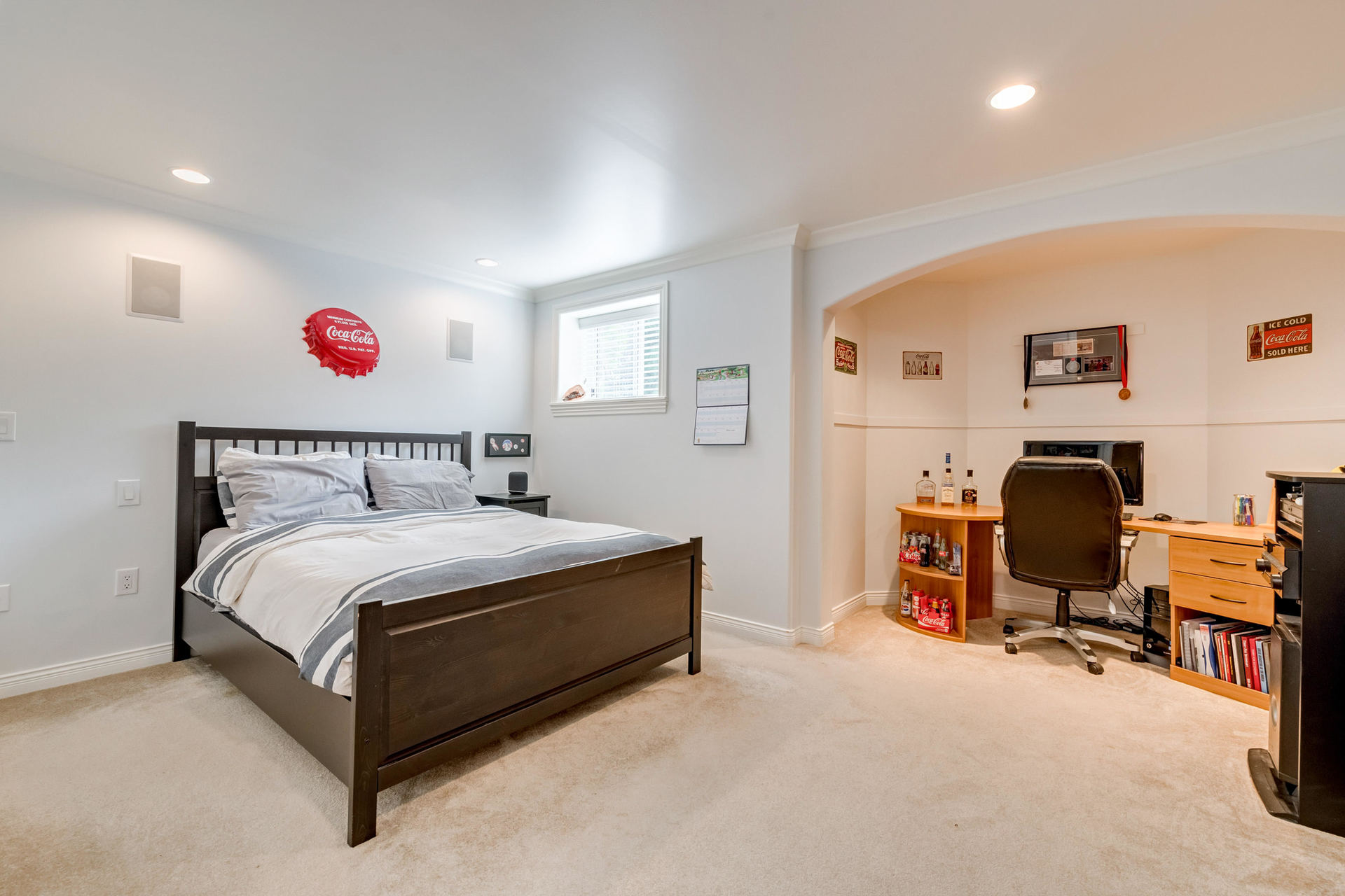 Downstairs Bedroom at 1384 Glenbrook Street, Burke Mountain, Coquitlam