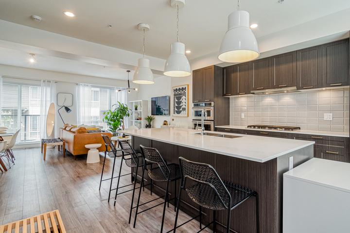 Kitchen & Living Room  at 7 - 2825 159 Street, Grandview Surrey, South Surrey White Rock