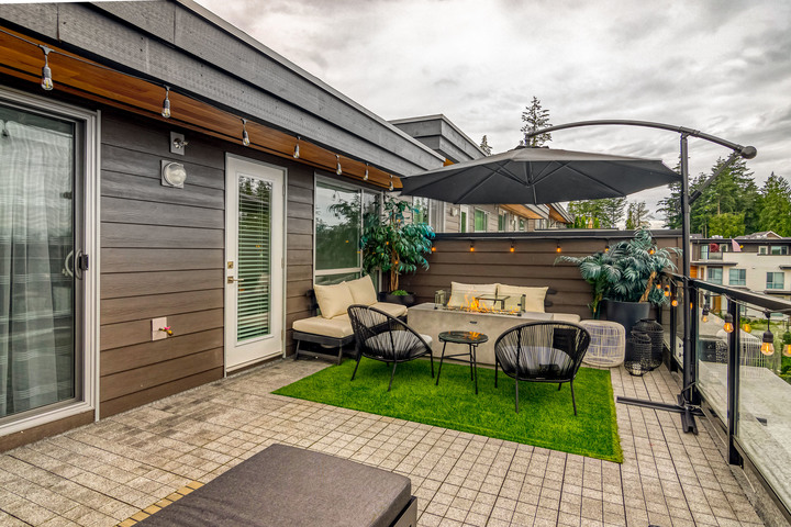 Rooftop Patio at 7 - 2825 159 Street, Grandview Surrey, South Surrey White Rock