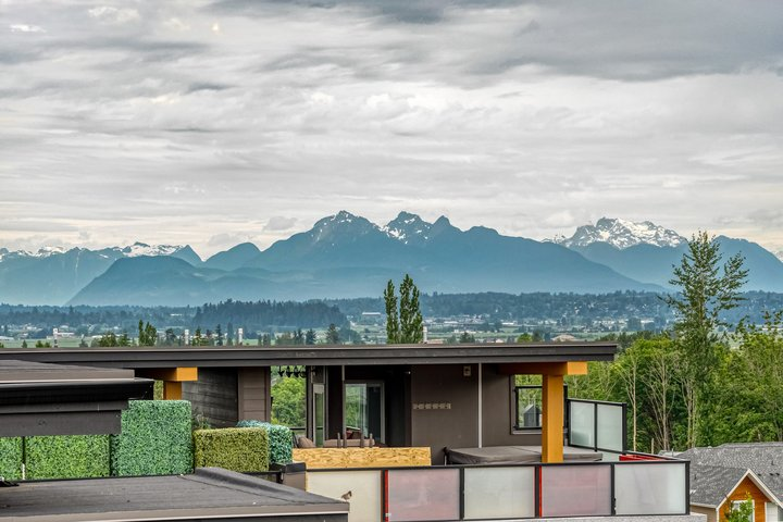 View from Rooftop Patio  at 7 - 2825 159 Street, Grandview Surrey, South Surrey White Rock