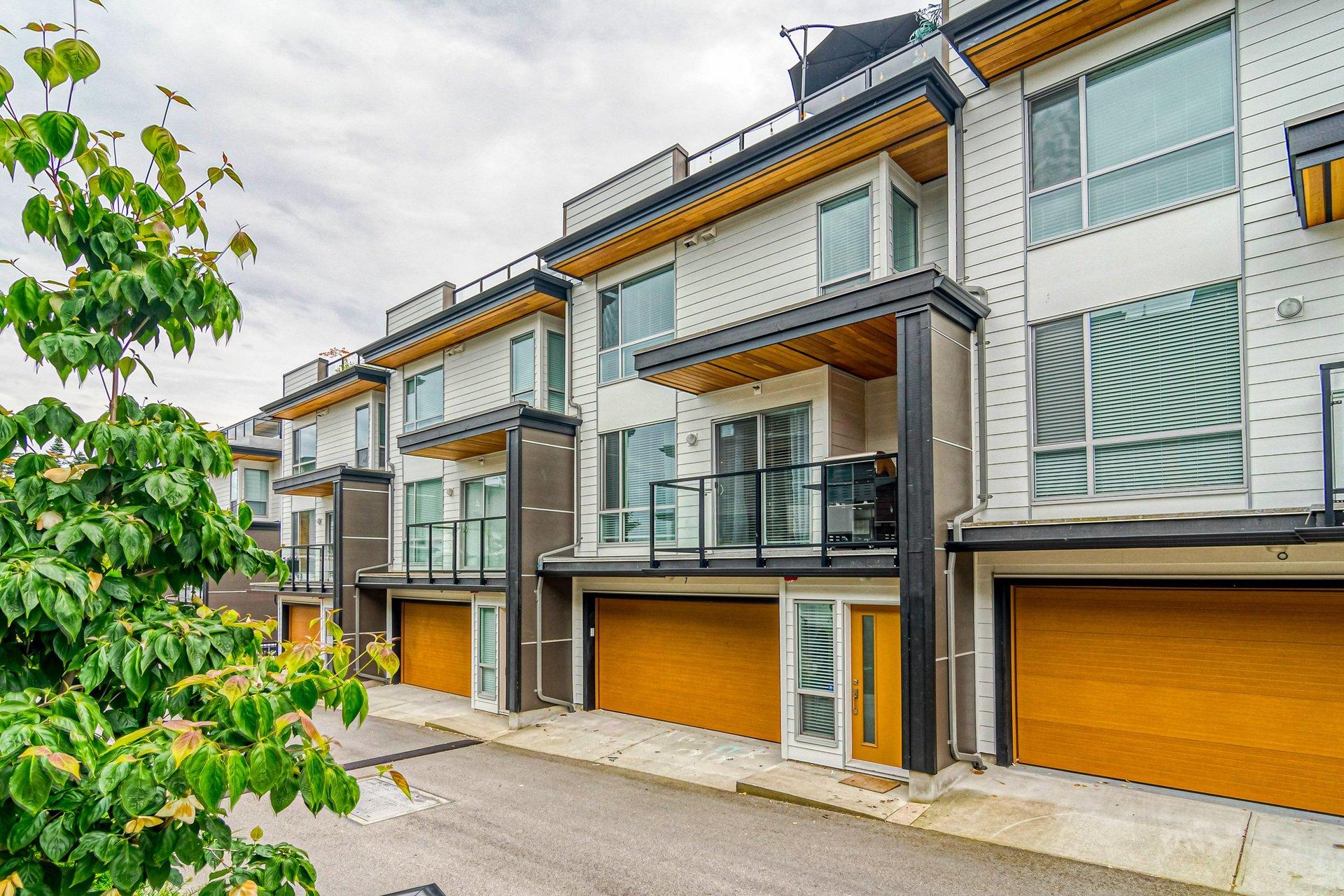 Rear Exterior  at 7 - 2825 159 Street, Grandview Surrey, South Surrey White Rock