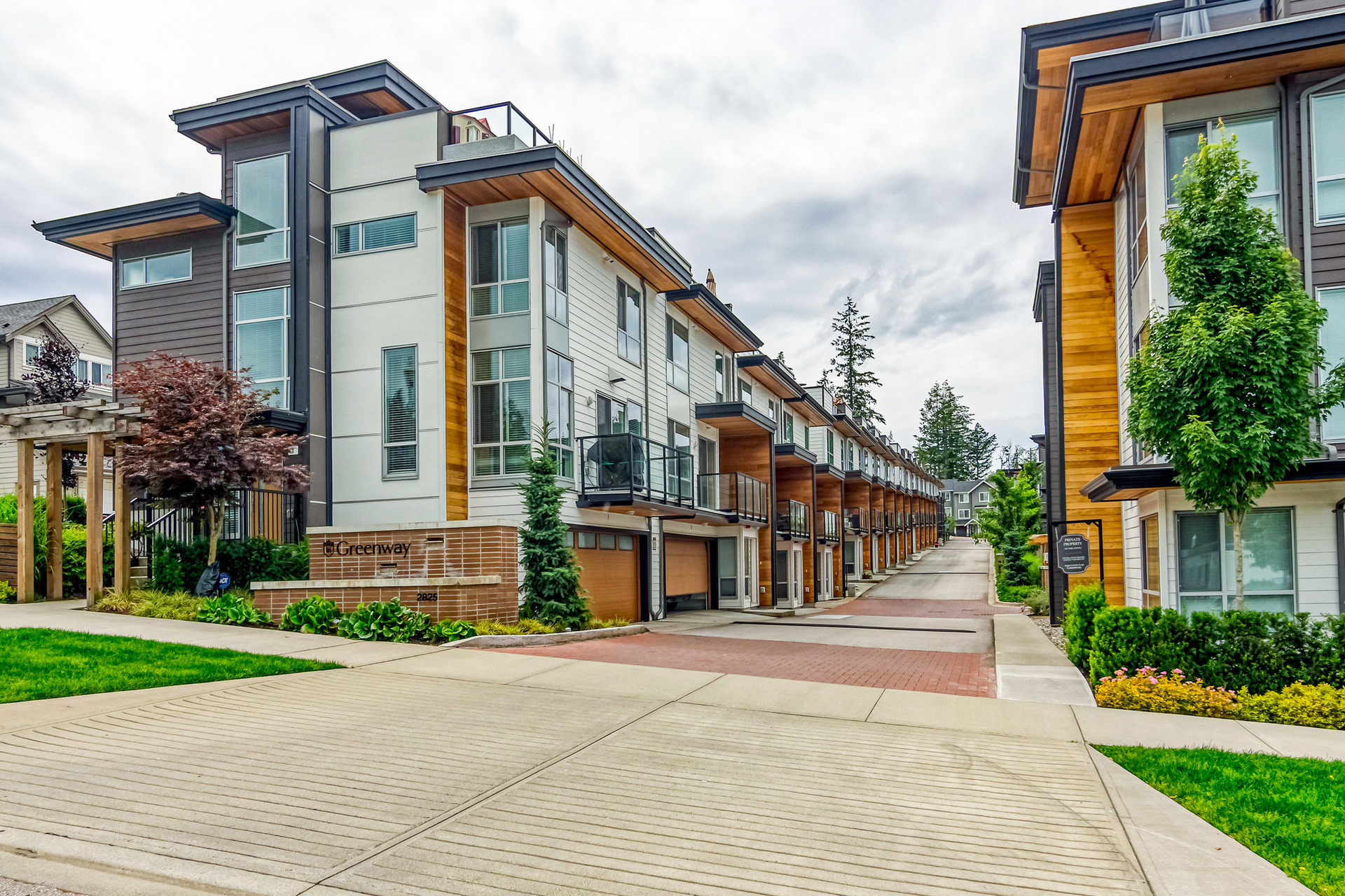Greenway Complex Entry at 7 - 2825 159 Street, Grandview Surrey, South Surrey White Rock