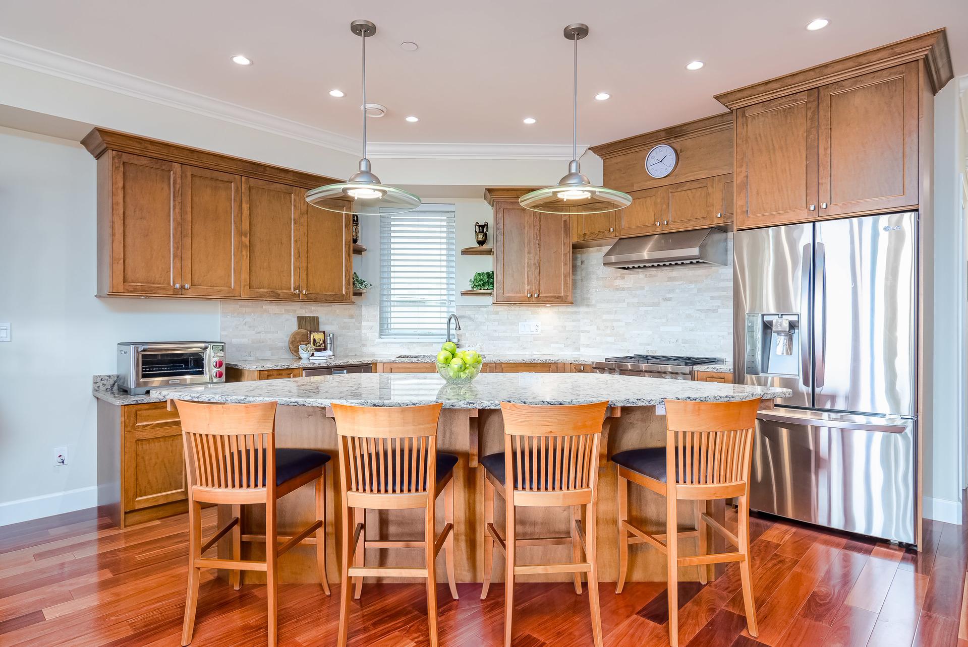 Kitchen  at 15090 Beachview Avenue, White Rock, South Surrey White Rock