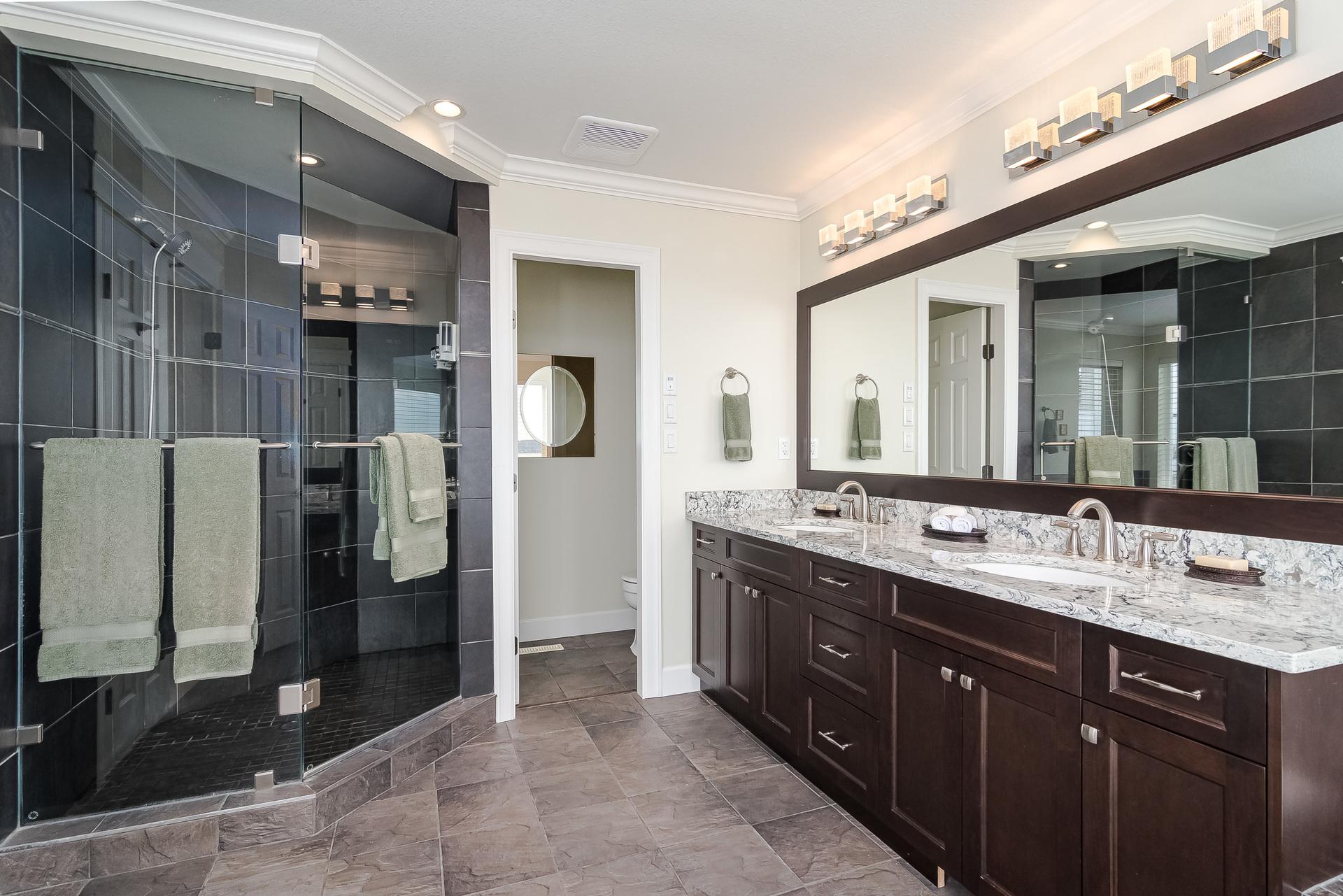 Master En-Suite  at 15090 Beachview Avenue, White Rock, South Surrey White Rock