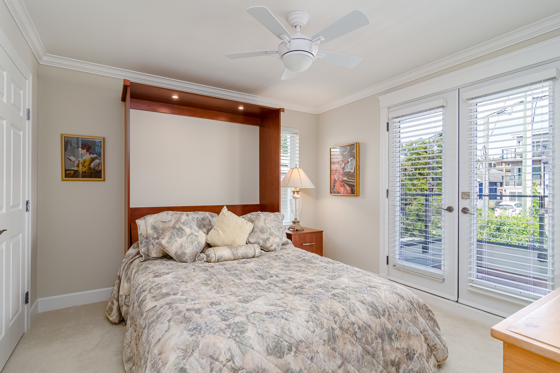 Upstairs Bedroom  at 15090 Beachview Avenue, White Rock, South Surrey White Rock