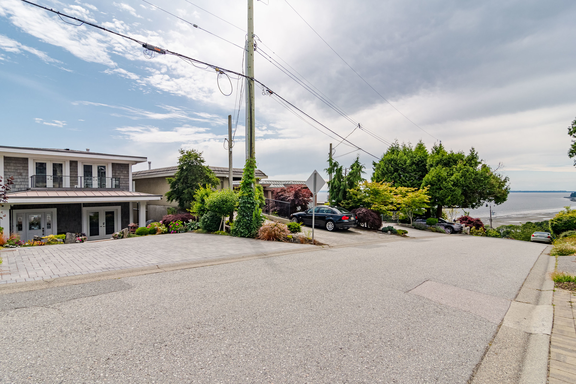 Front Street View  at 15090 Beachview Avenue, White Rock, South Surrey White Rock