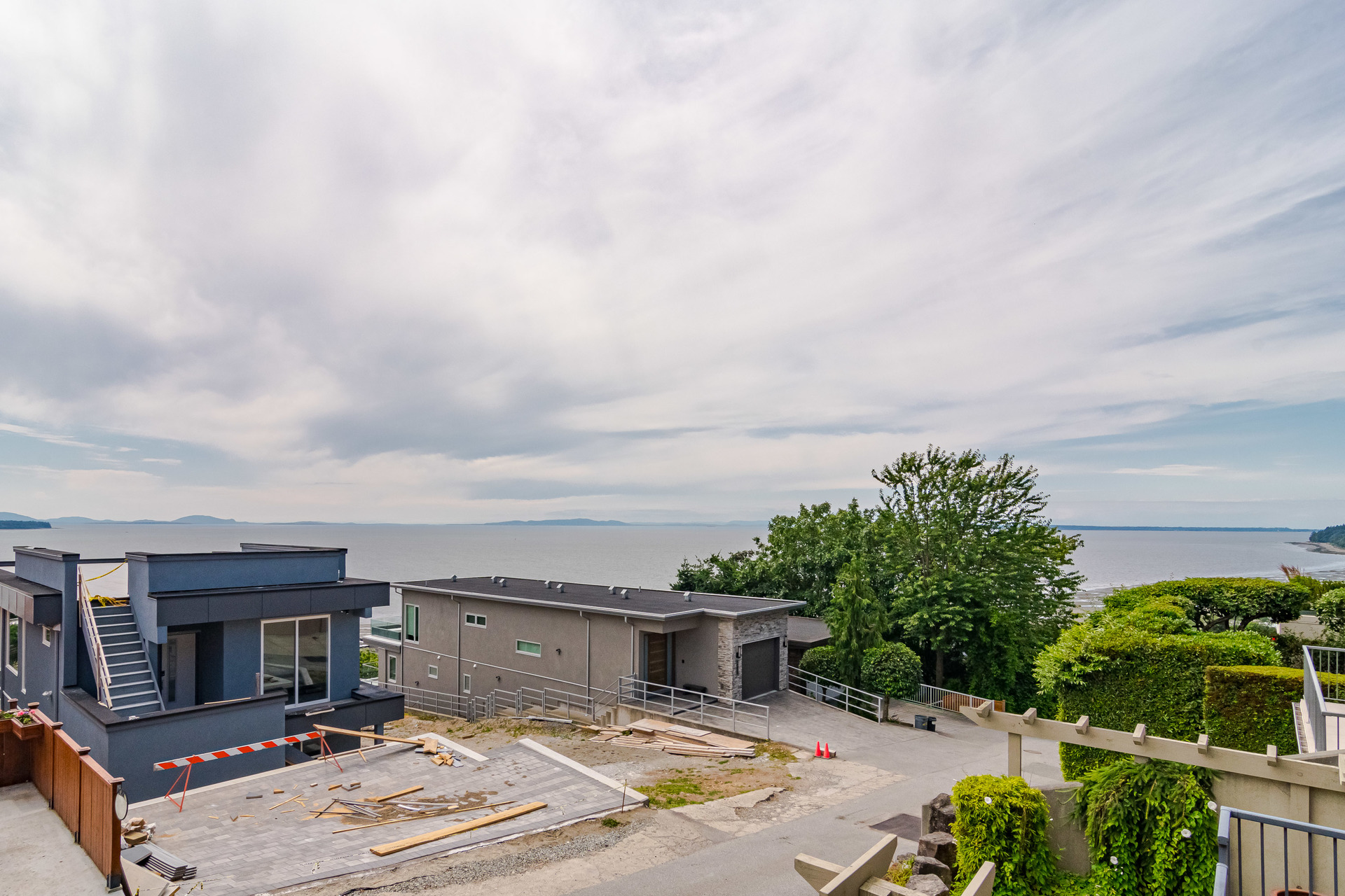 View from Suite Balcony  at 15090 Beachview Avenue, White Rock, South Surrey White Rock