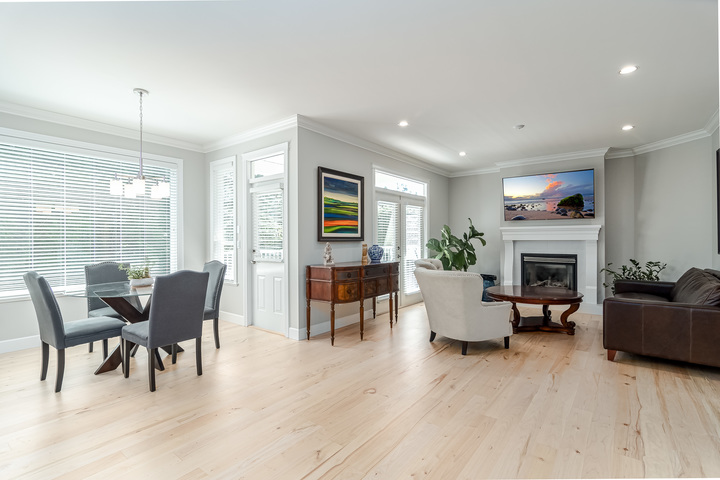 Eating Area & Family Room  at 13168 14a Avenue, Crescent Bch Ocean Pk., South Surrey White Rock