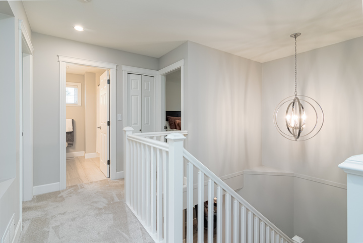 Upstairs Hallway at 13168 14a Avenue, Crescent Bch Ocean Pk., South Surrey White Rock