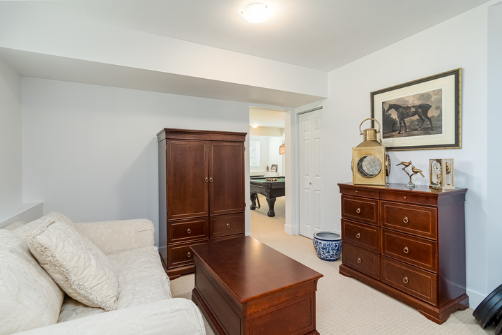 Downstairs Den  at 13168 14a Avenue, Crescent Bch Ocean Pk., South Surrey White Rock