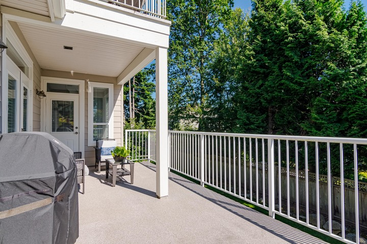 Deck off of Main Floor  at 13168 14a Avenue, Crescent Bch Ocean Pk., South Surrey White Rock