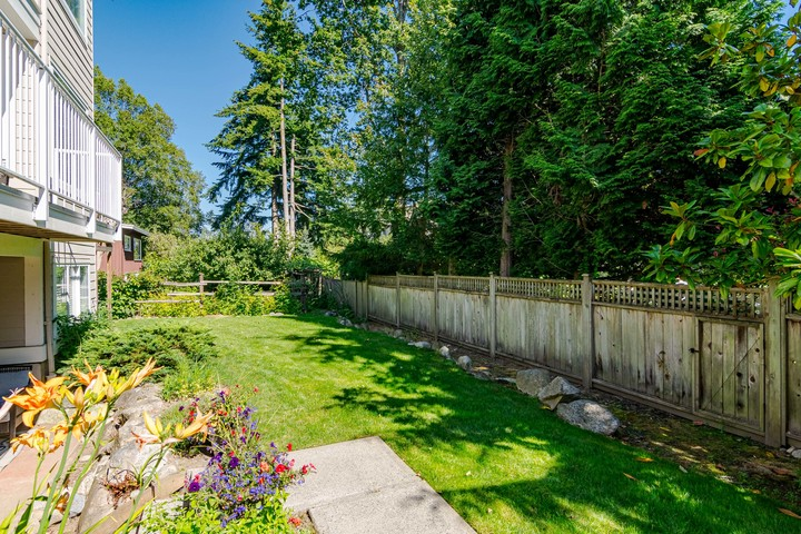 Private South Facing Backyard  at 13168 14a Avenue, Crescent Bch Ocean Pk., South Surrey White Rock