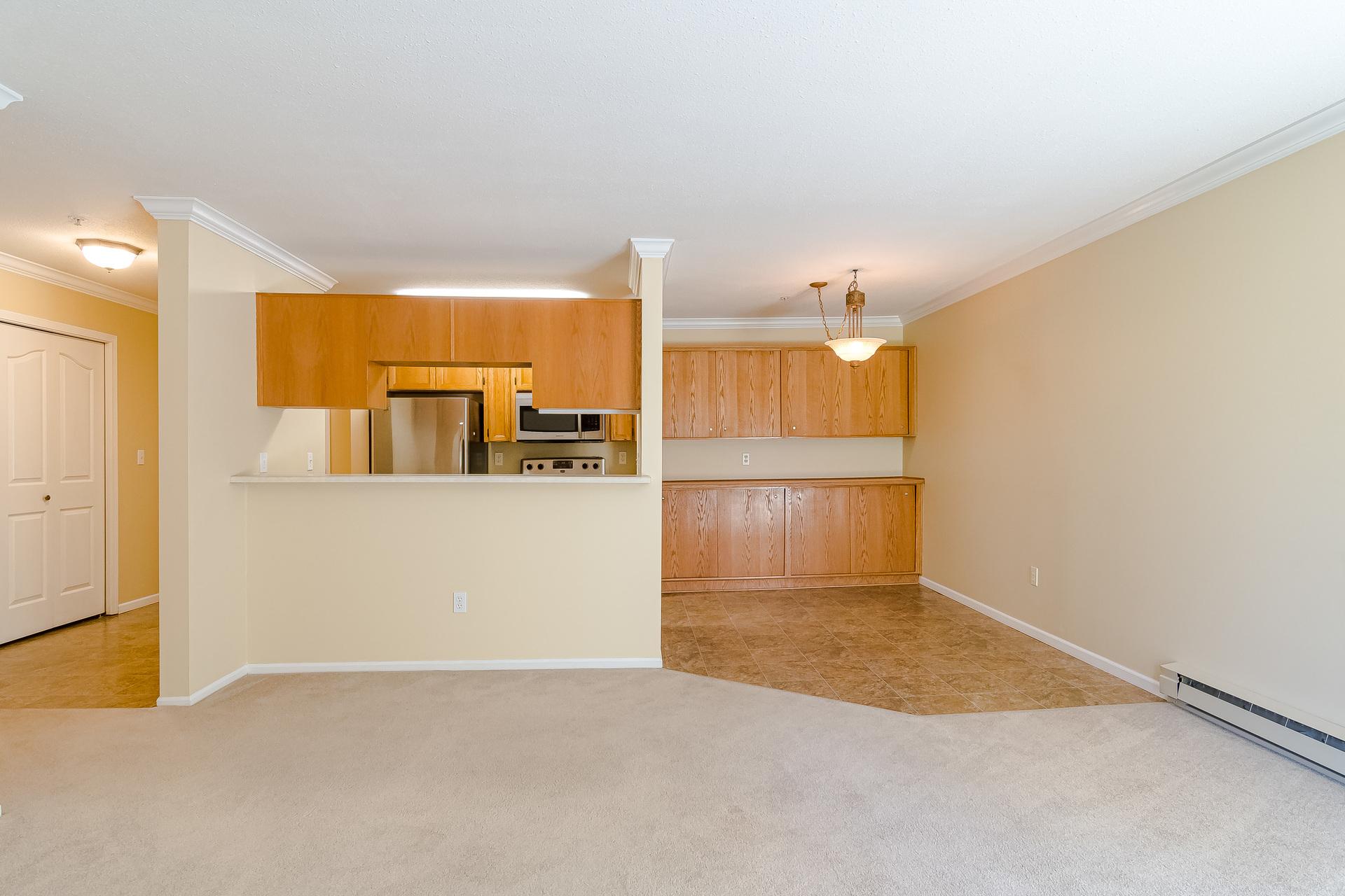 Foyer, Kitchen & Dining Room  at 219 - 2239 152 Street, Sunnyside Park Surrey, South Surrey White Rock