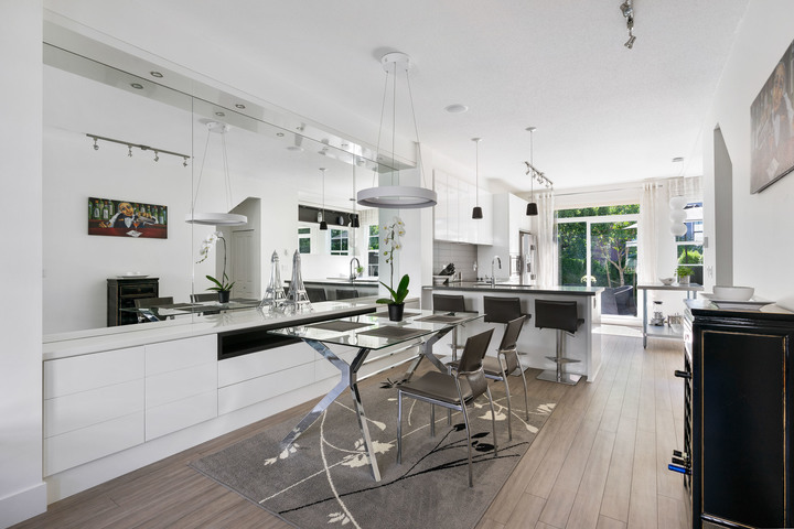 Dining Room & Kitchen  at 39 - 3399 151 Street, Morgan Creek, South Surrey White Rock