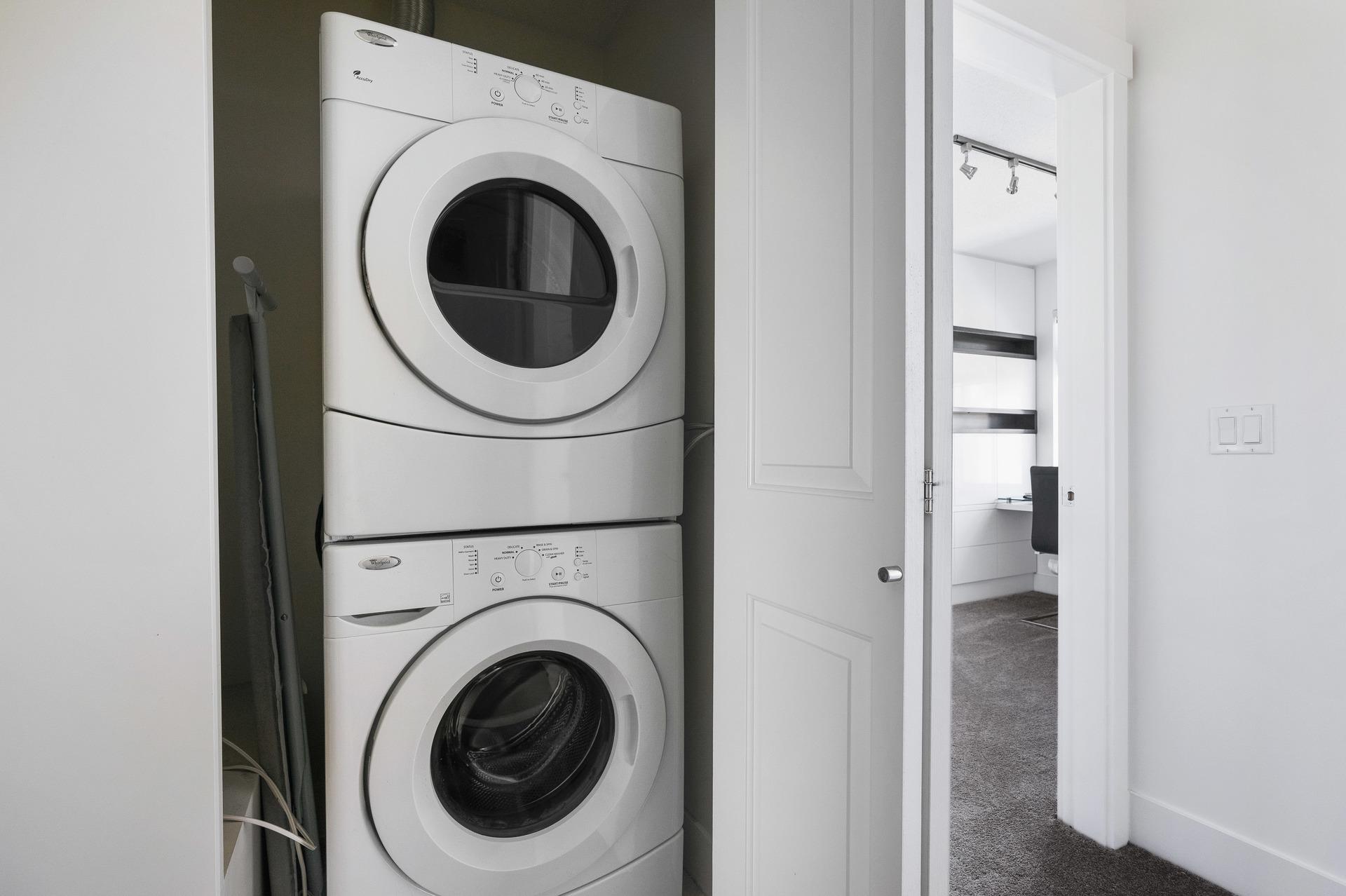 Laundry Closet  at 39 - 3399 151 Street, Morgan Creek, South Surrey White Rock