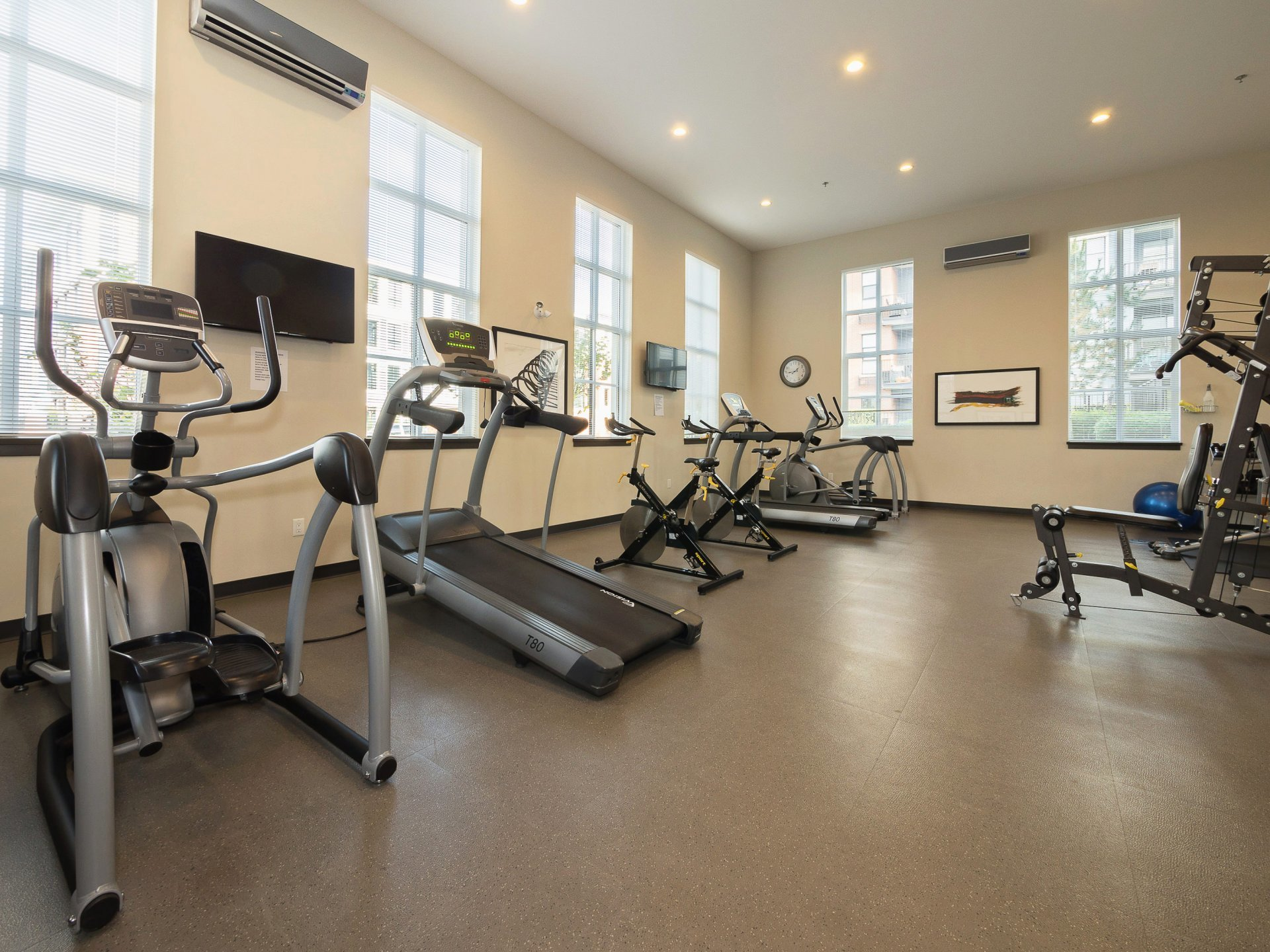 The Rowing Club Fitness Facility  at 39 - 3399 151 Street, Morgan Creek, South Surrey White Rock