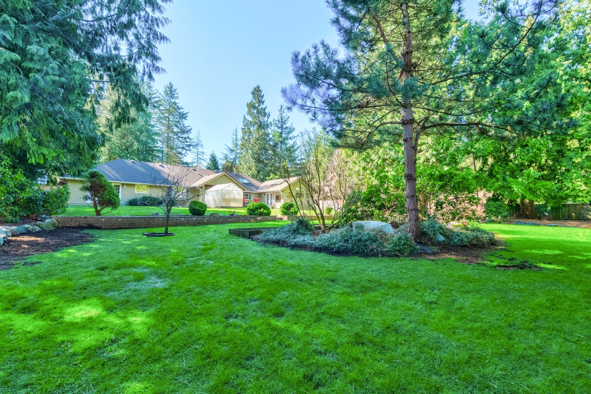 Backyard at 17237 26 Avenue, Grandview Surrey, South Surrey White Rock
