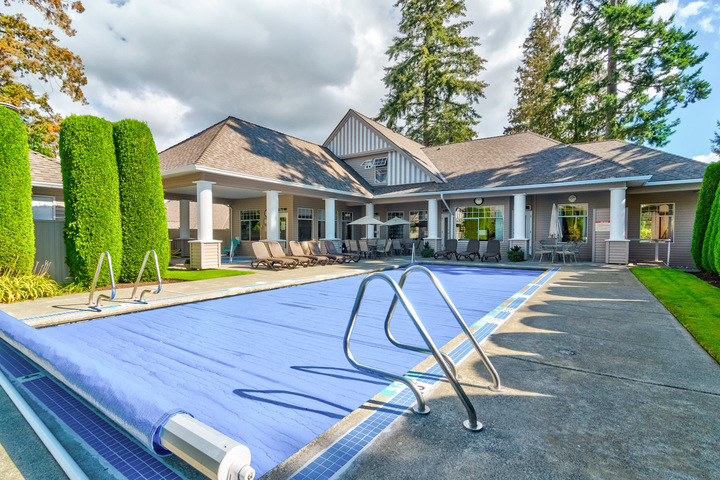 Outdoor Pool & Clubhouse at 26 - 2533 152 Street, Sunnyside Park Surrey, South Surrey White Rock