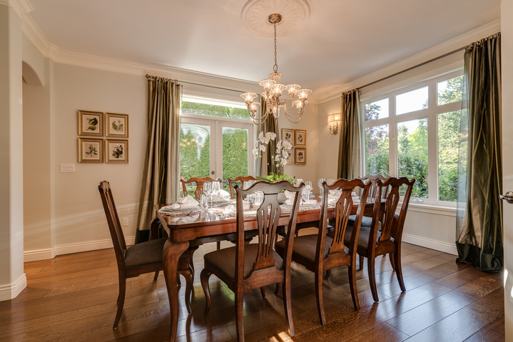 Dining Room at 13342 25 Avenue, Elgin Chantrell, South Surrey White Rock