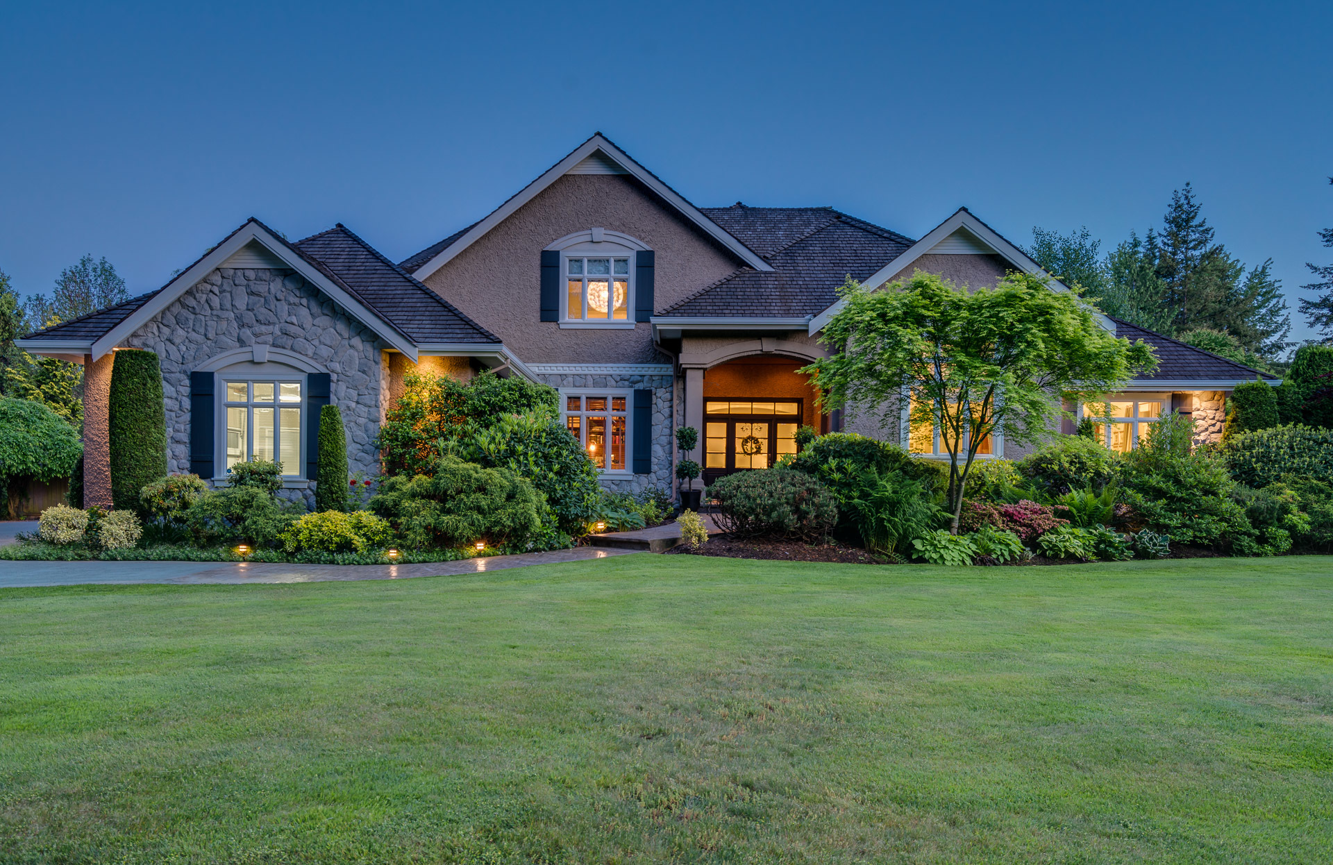 Front Exterior at 13342 25 Avenue, Elgin Chantrell, South Surrey White Rock