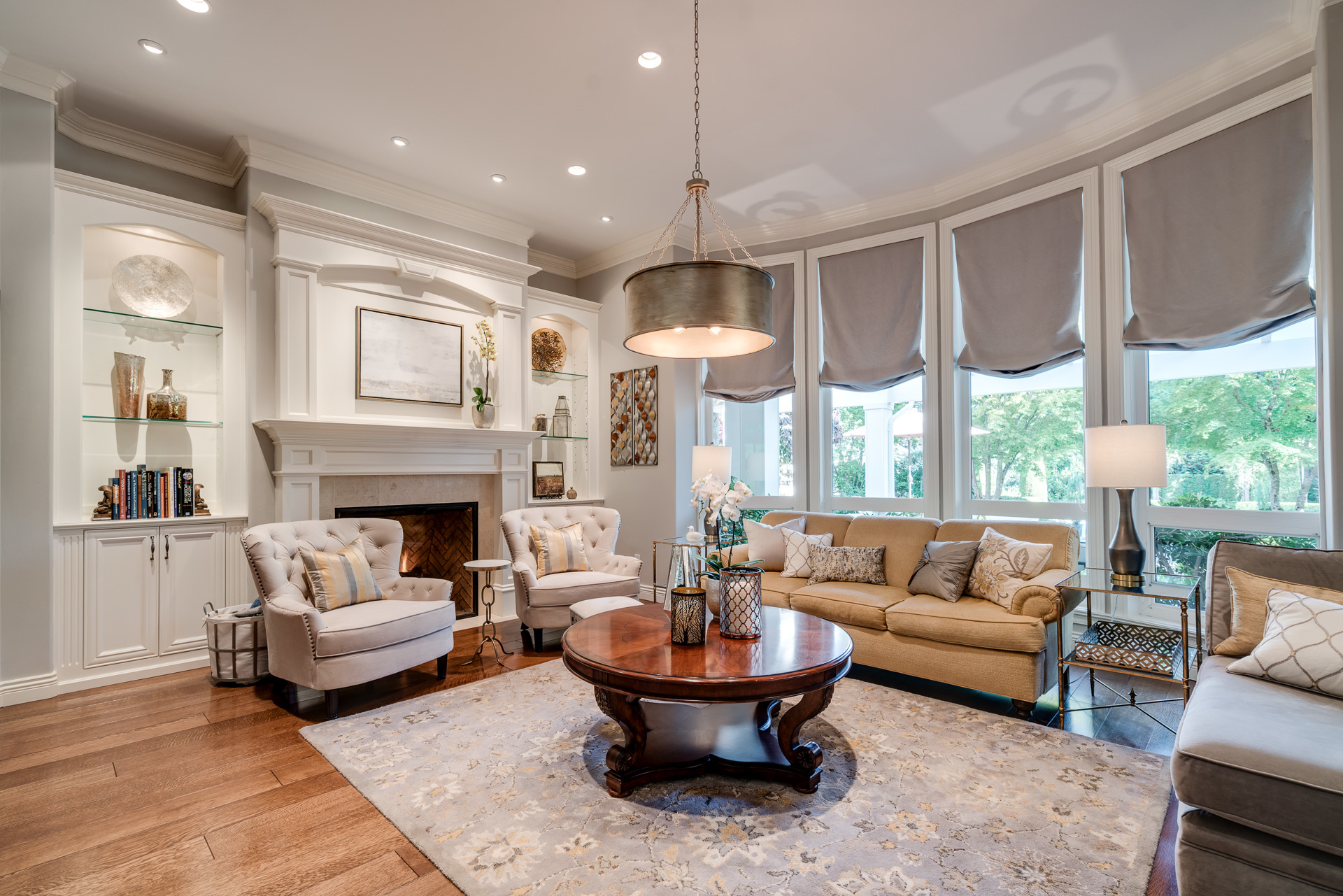 Living Room at 13342 25 Avenue, Elgin Chantrell, South Surrey White Rock