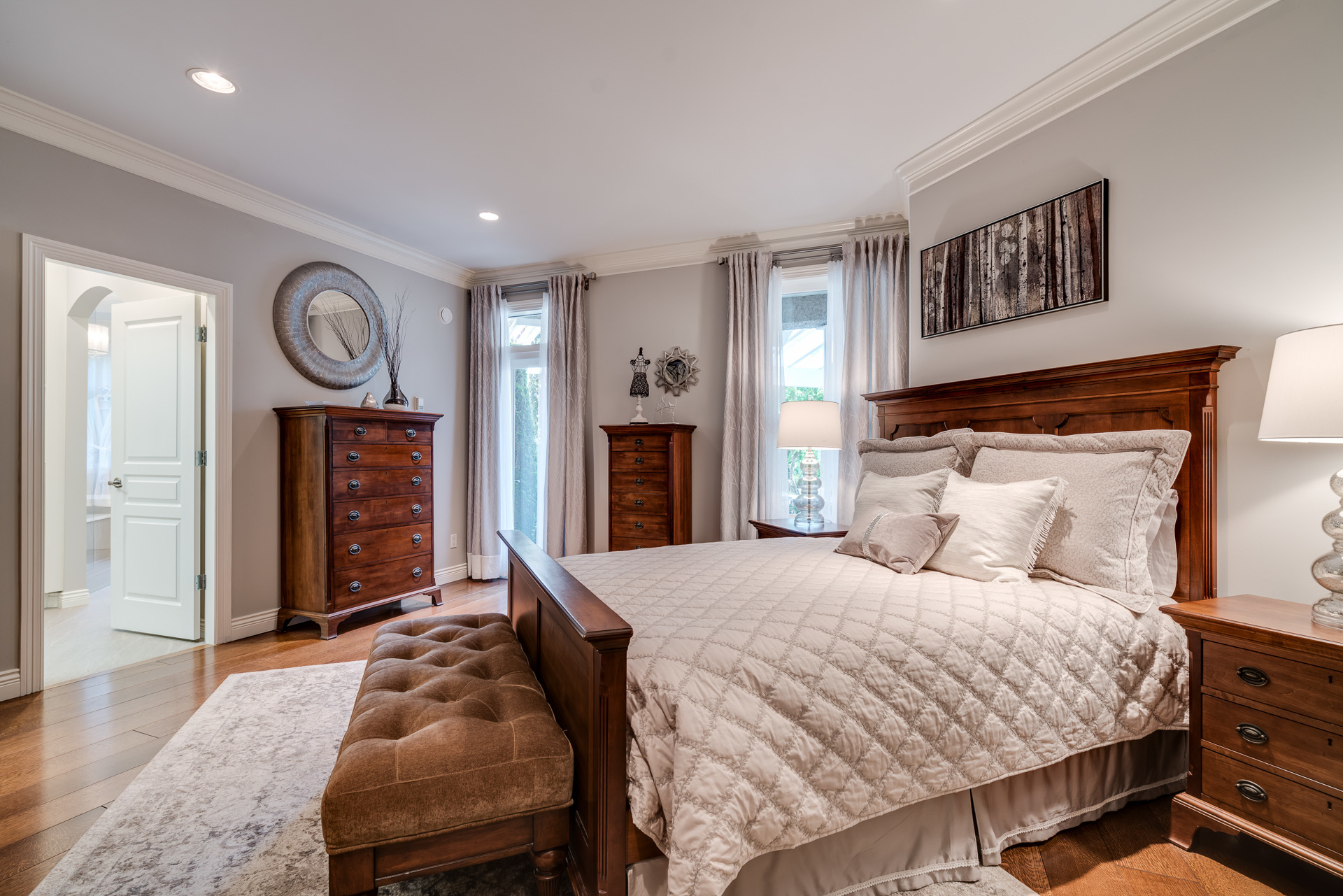 Master Bedroom at 13342 25 Avenue, Elgin Chantrell, South Surrey White Rock